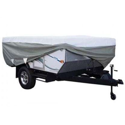 Picture of Classic Accessories PolyPRO (TM) 3 Poly Water Resistant RV Cover For 16-18' Folding Camper Trailers 80-042-183106-00 01-0394