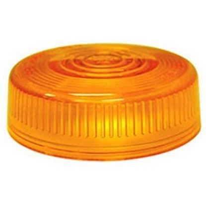 Picture of Peterson Mfg.  Amber Clearance/Side Marker Light Lens for Peterson Series 102A 102-15A 18-1400