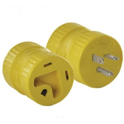 Picture of Marinco  20M/30F Power Cord Adapter 126A 19-1123