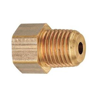 """Picture of MB Sturgis  1/4"""" Female IF X 1/4"""" MNPT Brass LP Adapter Fitting 402258PKG 69-6658"""