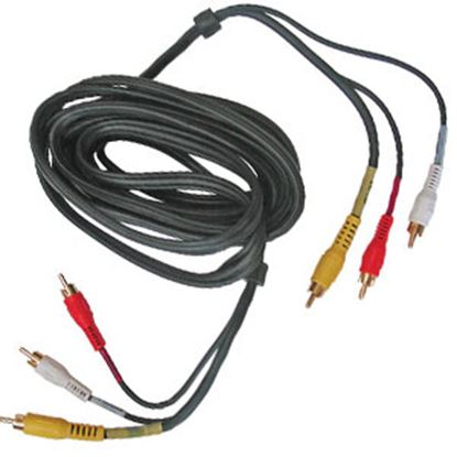 Picture of Diamond Group  Black 6' 3 Wire Cable DG52485VP 69-8797
